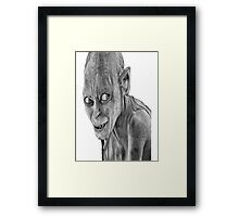lord of the rings-smygl-golum Framed Print