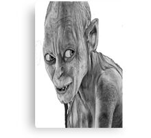 lord of the rings-smygl-golum Canvas Print