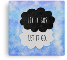 Let it go ♠ Frozen Canvas Print