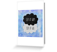 Let it go ♠ Frozen Greeting Card