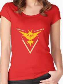 TEAM INSTINCT LOGO Women's Fitted Scoop T-Shirt