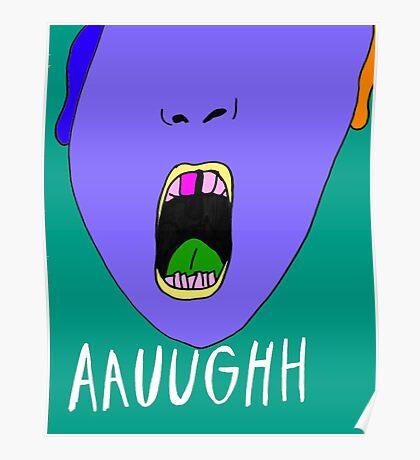 Aauughh Poster