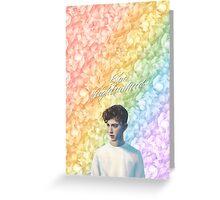 Troye Sivan Blue Neighbourhood Rainbow Greeting Card