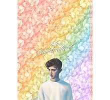 Troye Sivan Blue Neighbourhood Rainbow Photographic Print