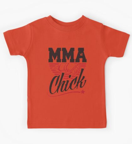 MMA Chick Kids Tee