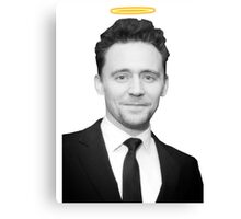 Tom Hiddleston with a halo  Canvas Print