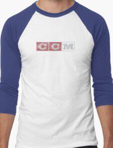 CCM logo Men's Baseball ¾ T-Shirt