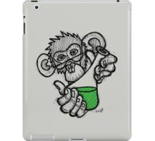 Lab Monkey iPad Case/Skin