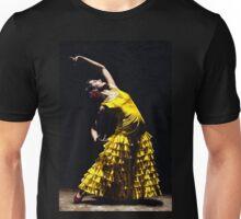 Un Momento Intenso del Flamenco Unisex T-Shirt
