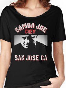 samoa joe crew  Women's Relaxed Fit T-Shirt