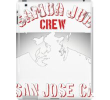 samoa joe crew  iPad Case/Skin
