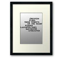 Bastille #1 Framed Print