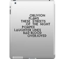 Bastille #1 iPad Case/Skin