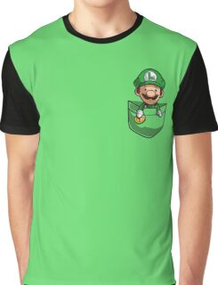 Pocket Luigi Graphic T-Shirt