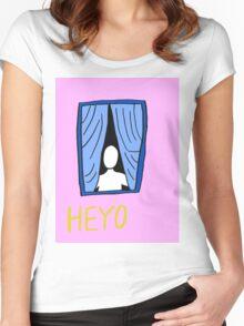 Heyo Women's Fitted Scoop T-Shirt