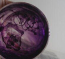 Purple Ink Sticker