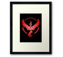 Team Valor: Stained Framed Print