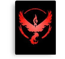 Team Valor: Stained Canvas Print