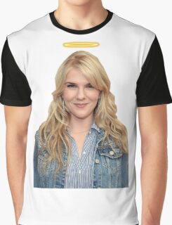 Lily Rabe with a halo Graphic T-Shirt