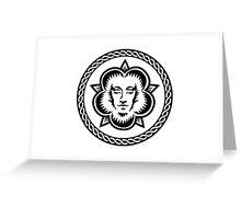 WHITE MAGICK Greeting Card