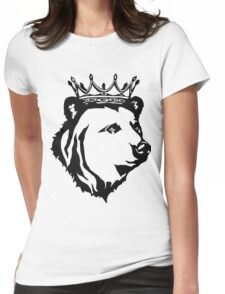 King Bear Womens Fitted T-Shirt