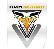 Pokemon Go Team Instinct Poster
