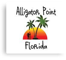 Alligator Point Florida. Canvas Print