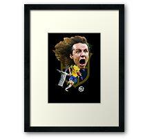 David Luiz Framed Print