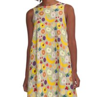 Fruits and berries A-Line Dress