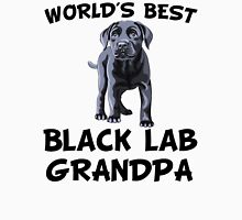 World's Best Black Lab Grandpa Unisex T-Shirt
