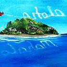 Oko's Island...........Mahalo / Aloha by WhiteDove Studio kj gordon