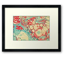 Abstract Painting ; Coast Framed Print