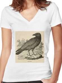 That's So Vintage Raven Women's Fitted V-Neck T-Shirt