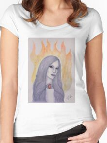 The Red Woman Women's Fitted Scoop T-Shirt