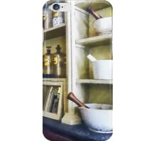 Three Mortar and Pestles in Pharmacy iPhone Case/Skin