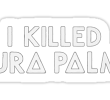 Bastille - Laura Palmer #3 Sticker