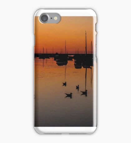 A Blakeney sunset iPhone Case/Skin