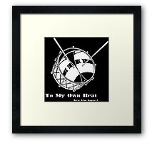 To My Own Beat Framed Print