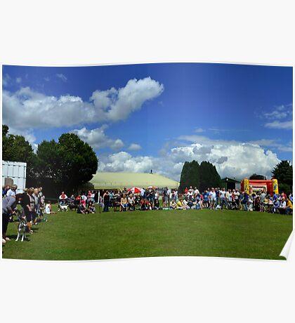Dog Show At Axminster Fair Devon. UK Poster