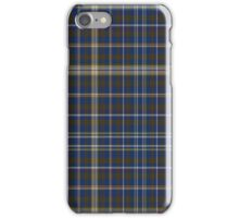 02365 Salt Lake County, Utah Fashion Tartan  iPhone Case/Skin