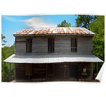Grist Mill of Dunn's Falls Poster