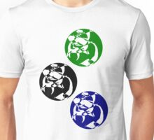 Bubbles in three colors Unisex T-Shirt