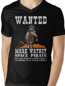 Mark Watney: Space Pirate - The Martian Mens V-Neck T-Shirt