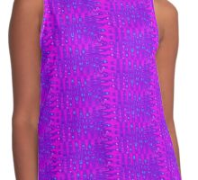 Purple and Blue Peaks Contrast Tank