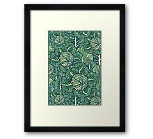 dreaming cabbages Framed Print