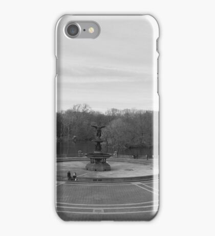 Bethesda in the Winter iPhone Case/Skin