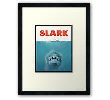 JAWS OF SLARK Framed Print