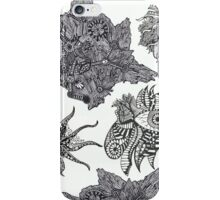 My Abstract Black and White Design iPhone Case/Skin
