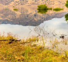 Lake Kaweah in California Sticker