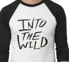 Into the Wild x BW Men's Baseball ¾ T-Shirt